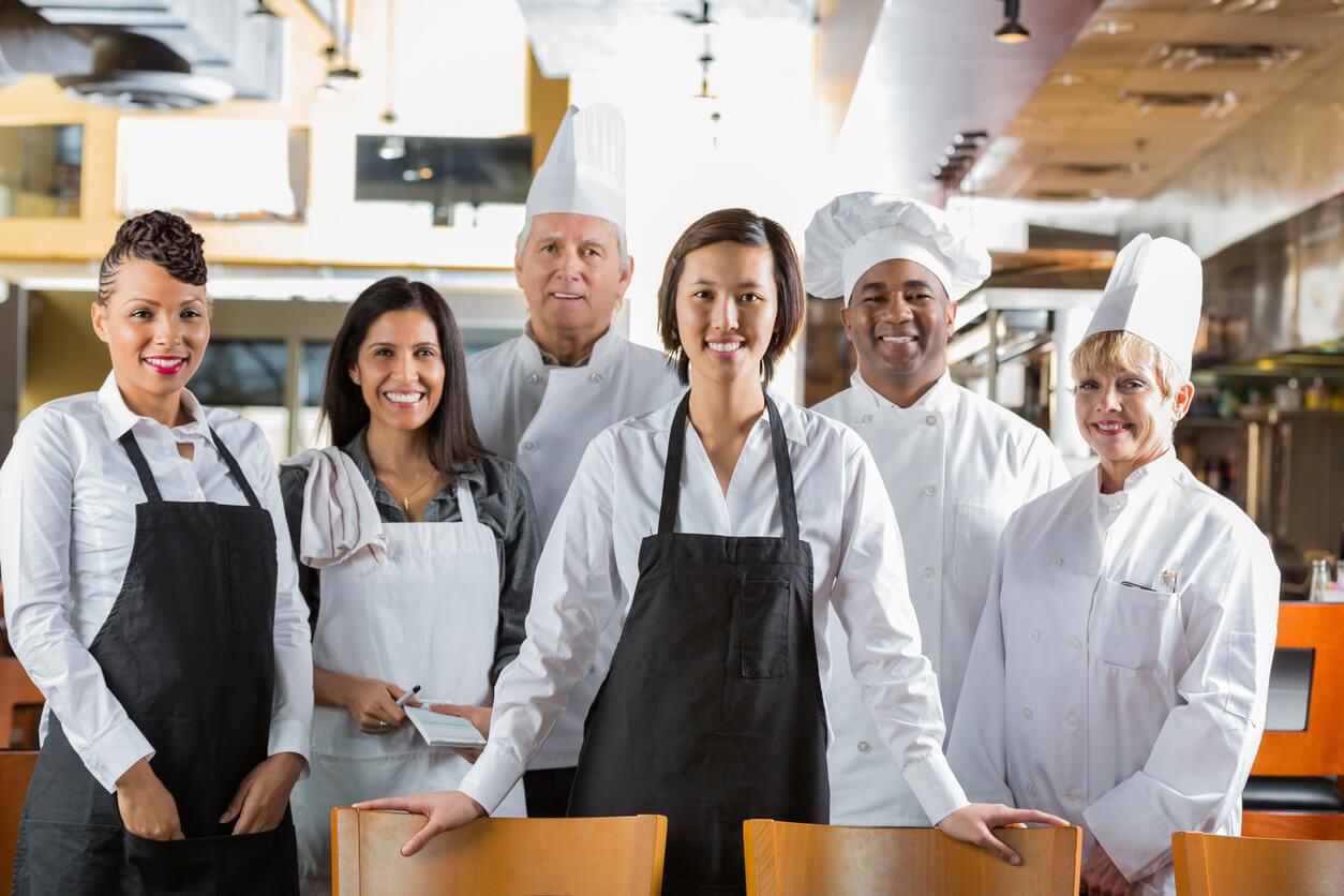 Signature Service foodservice staff hospitality staff